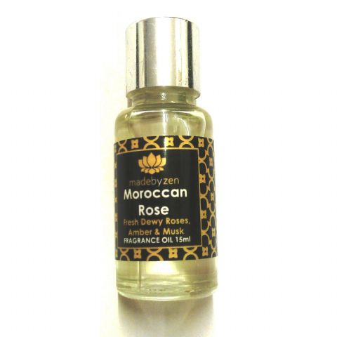 MOROCCAN ROSE - Signature Scented Fragrance Oil Made By Zen 15ml